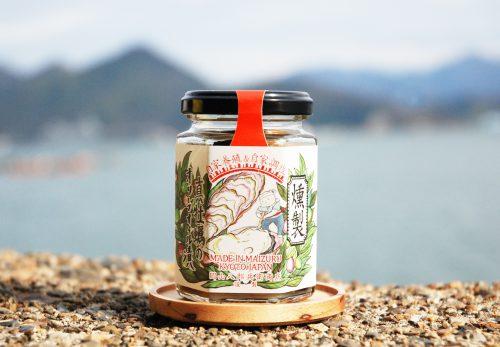 燻製真牡蠣のオリーブオイル漬